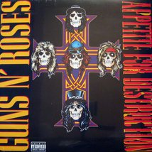 Виниловая пластинка Guns N' Roses - Appetite For Destruction