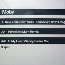 Виниловая пластинка Moby - New York, New York - Porcelain - In My Heart