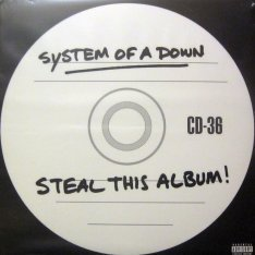Виниловая пластинка System Of A Down - Steal This Album!