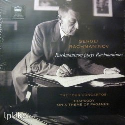 Виниловая пластинка Sergei Rachmaninoff - Rachmaninov Plays Rachmaninov: the Four Concertos - Rhapsody On A Theme Of Paganini