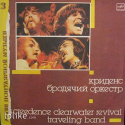 Виниловая пластинка Creedence Clearwater Revival - Traveling Band (Бродячий оркестр)