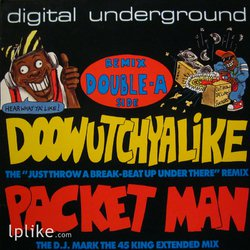 Виниловая пластинка Digital Underground - Doowutchyalike (Remix) / Packet Man