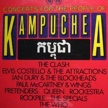 Виниловая пластинка Various - Concerts For The People Of Kampuchea